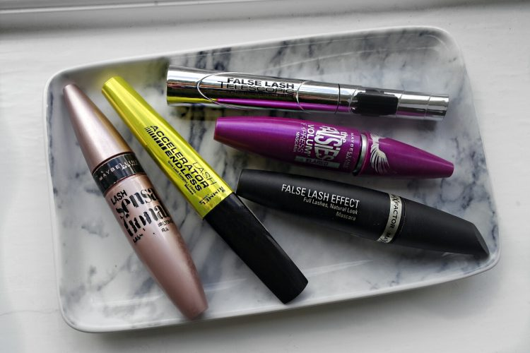 Top 5 Drugstore/Affordable Mascaras