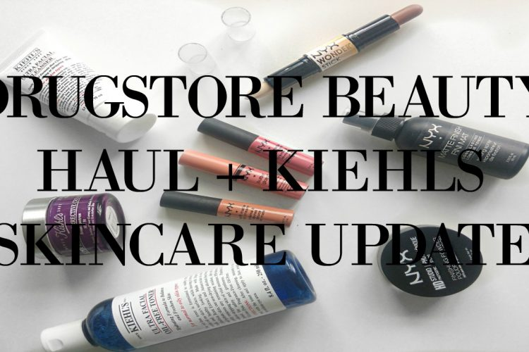 NYX Beauty Products + Kiehls Skincare