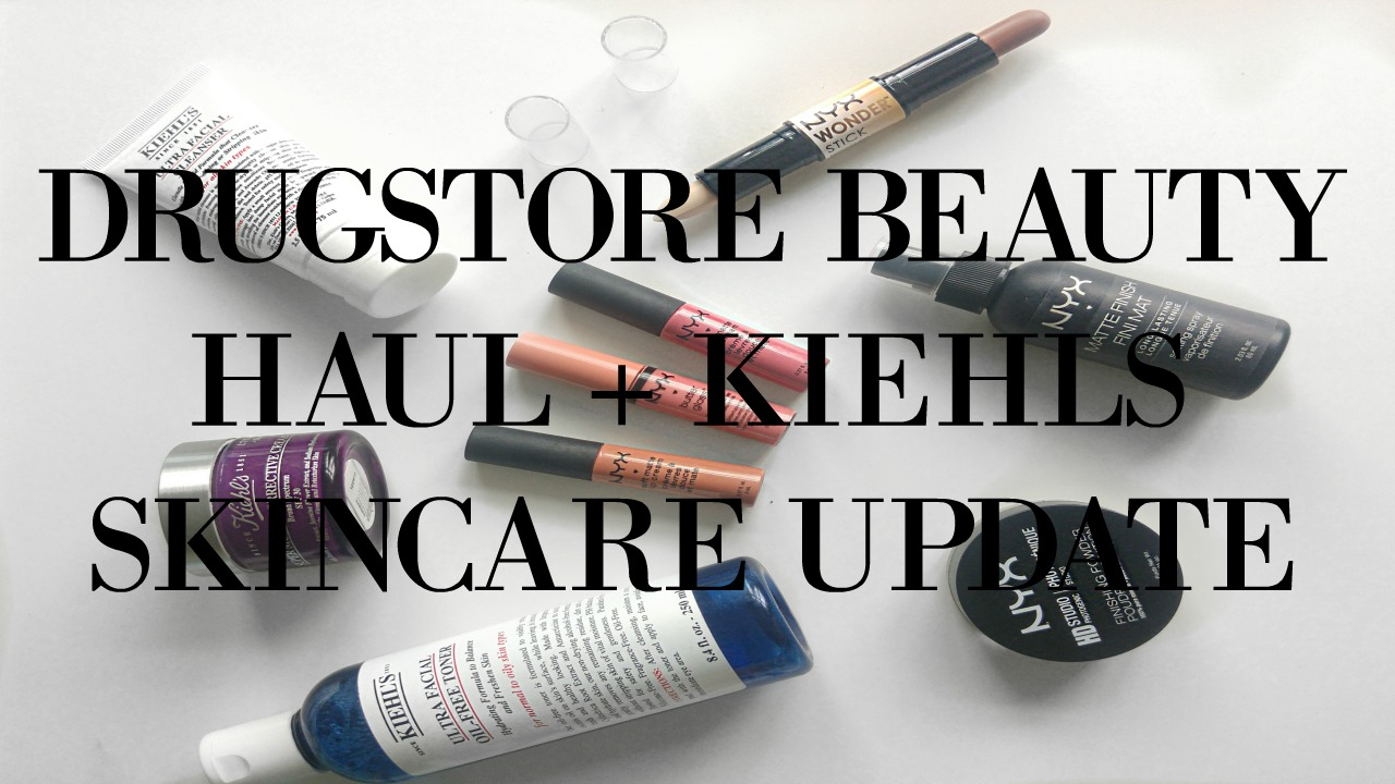 NYX Beauty Products + Kiehls Skincare