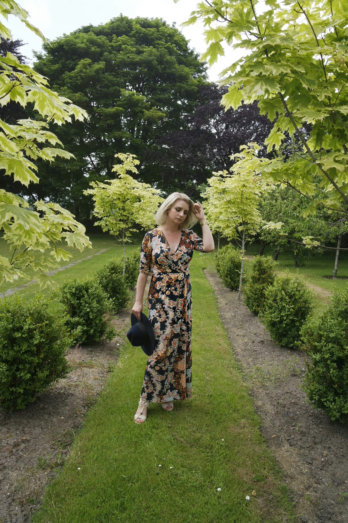 Marks and Spencers Floral Printed Maxi Dress