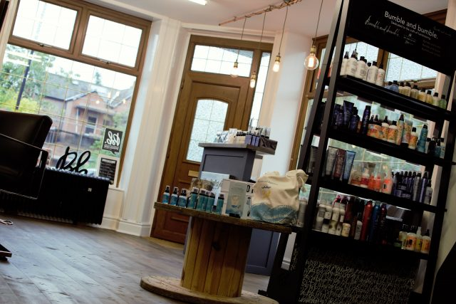Richard Hall Styling Hair Salon Product View Interior View1