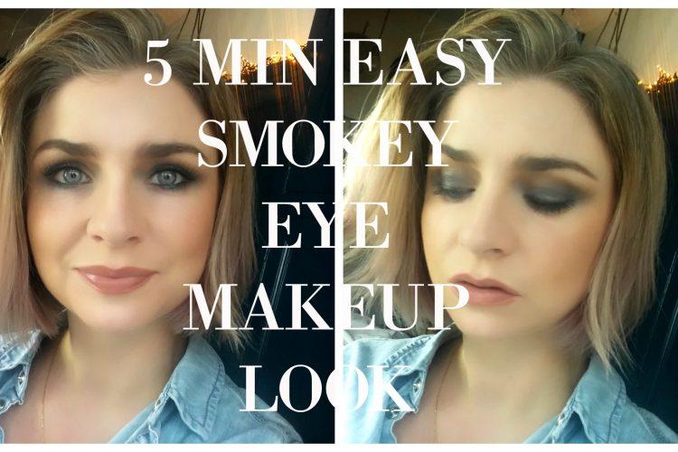 Easy 5 Min Smokey Eye MAkeup Look