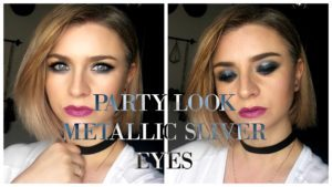 Party Look Metallic Sliver Eyes