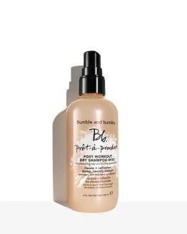 bumble pret post workout dry shampoo
