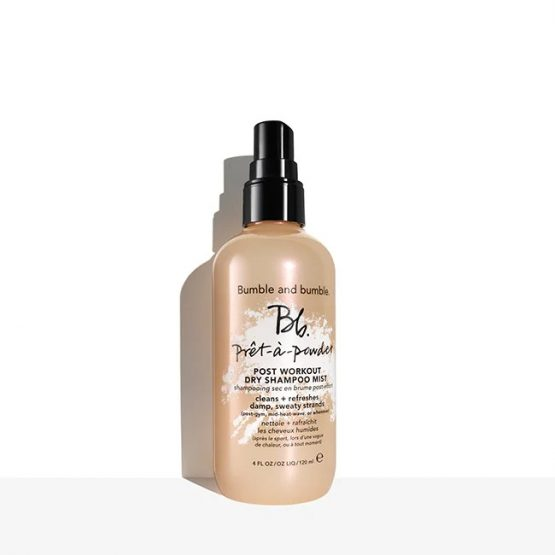 bumble pret post workout dry shampoo